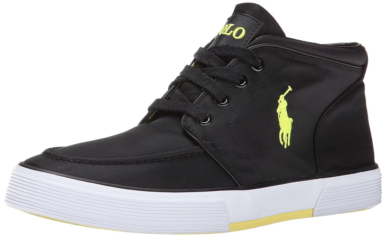 264e987f11664 Polo Ralph Lauren Men's Federico Fashion Sneaker, Black, 9 D US