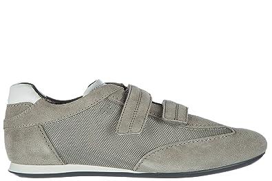 Hogan Herrenschuhe Herren Wildleder Sneakers Schuhe olympia Grau EU 40  HXM0520N0505MC736G