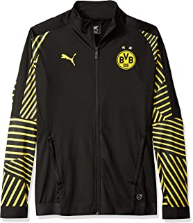 5e008981867b PUMA Men s BVB T7 Jacket at Amazon Men s Clothing store