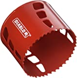 "Freud DHS3500 Diablo High Performance Hole Saw Ideal for Drilling Wood, Plastic, Aluminum, Metal and Stainless Steel, 3-1/2"" x 2-3/8"""