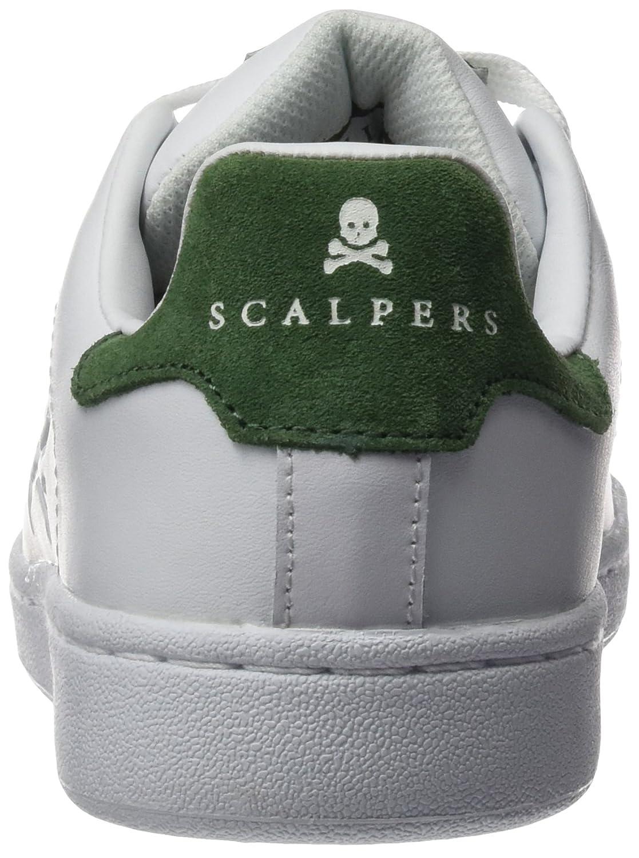 Scalpers Milky Shoes 04 - Zapatillas para hombre, color Blanco/Verde, talla 39: Amazon.es: Ropa y accesorios