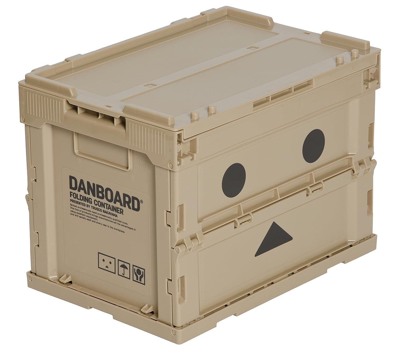 Amazon限定 トラスコ(TRUSCO) 「ダンボー」薄型折りたたみコンテナ TR-SC20-A-DNB