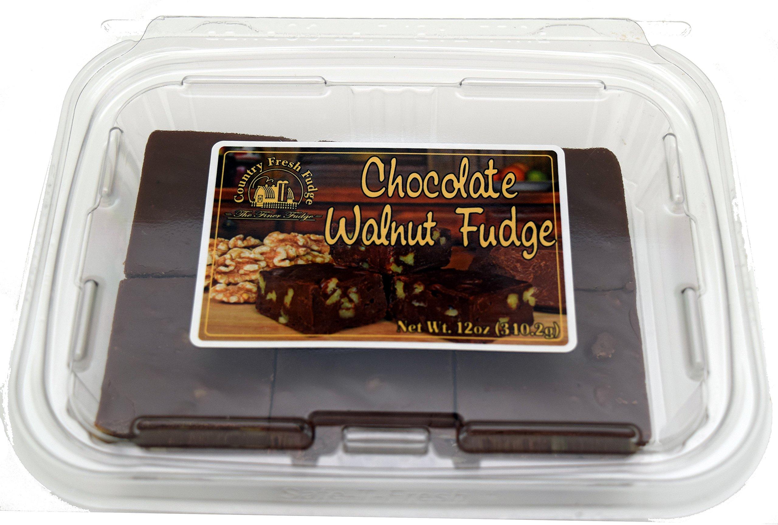 Country Fresh Fudge Chocolate, Walnut, 6 Pound (Pack of 8)