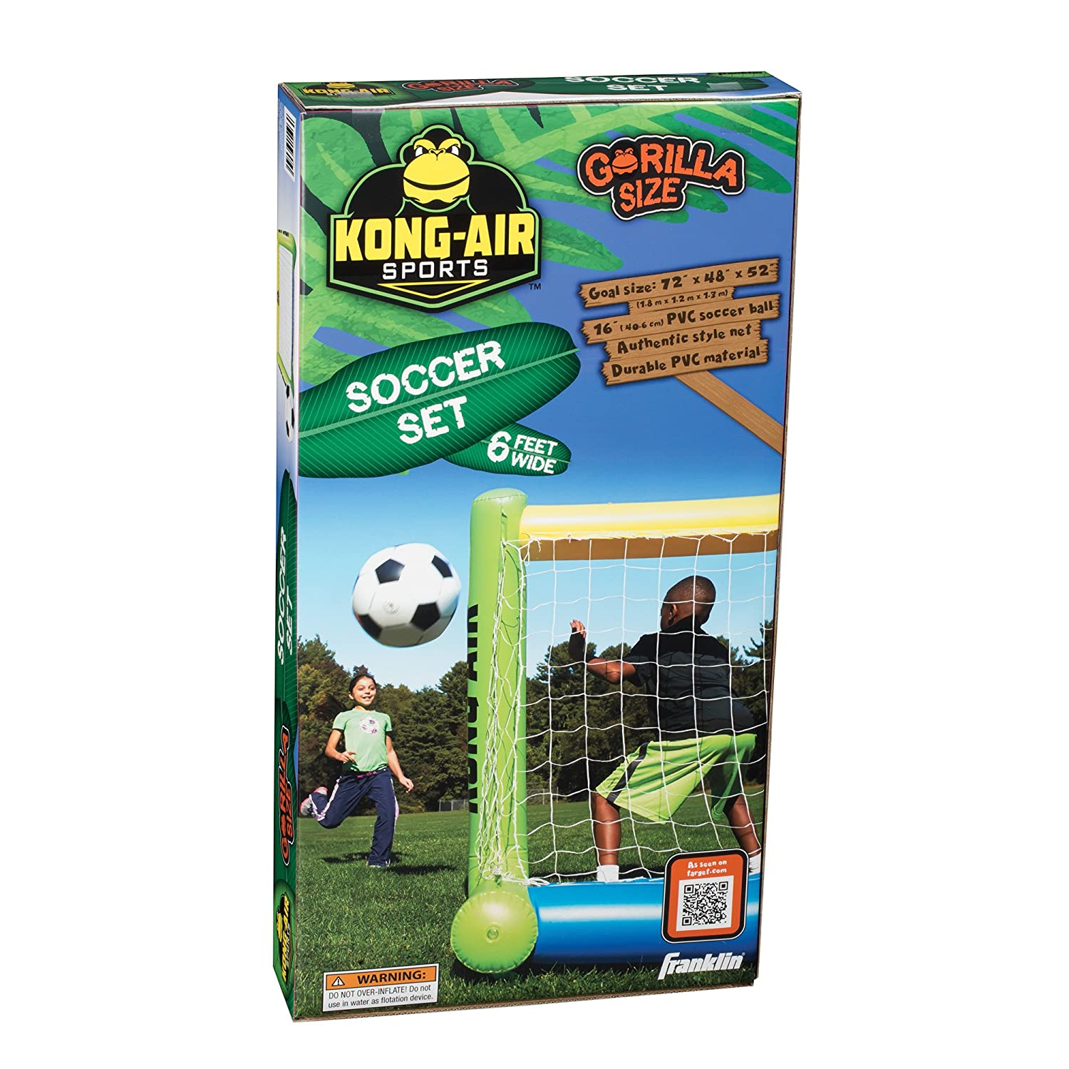 Buy Franklin Sports Kong-Air Sports Soccer Set Online at Low Prices in  India - Amazon.in ede6d4df4b237