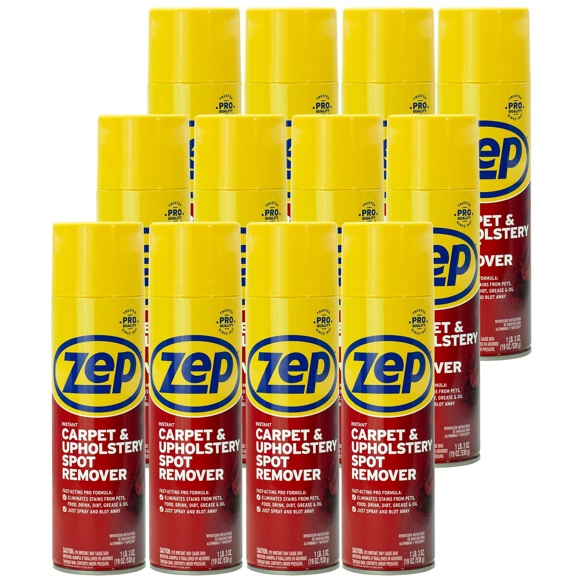 Zep Instant Spot and Stain Remover 19 ounce ZUSPOT19 (case of 12)