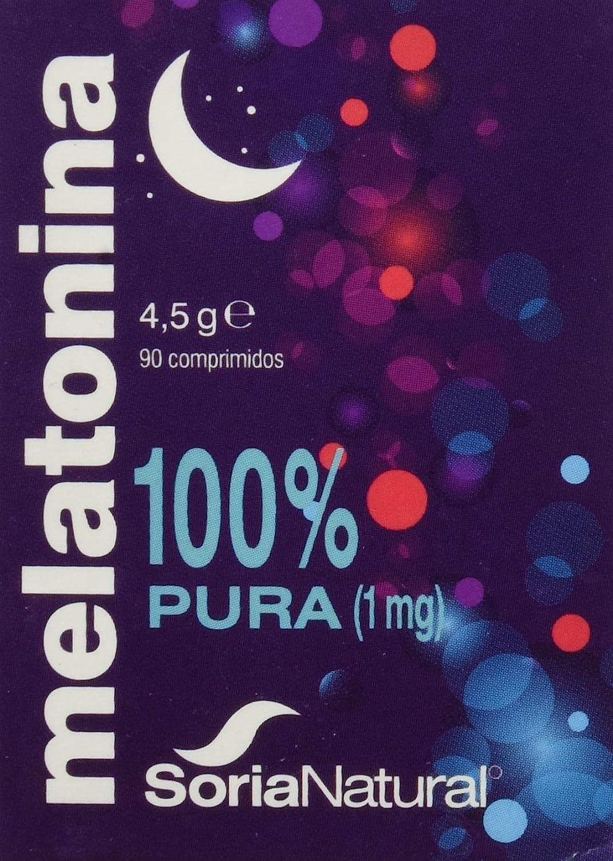 Soria Natural Melatonina Vitaminas - 90 Cápsulas: Amazon.es: Salud y cuidado personal