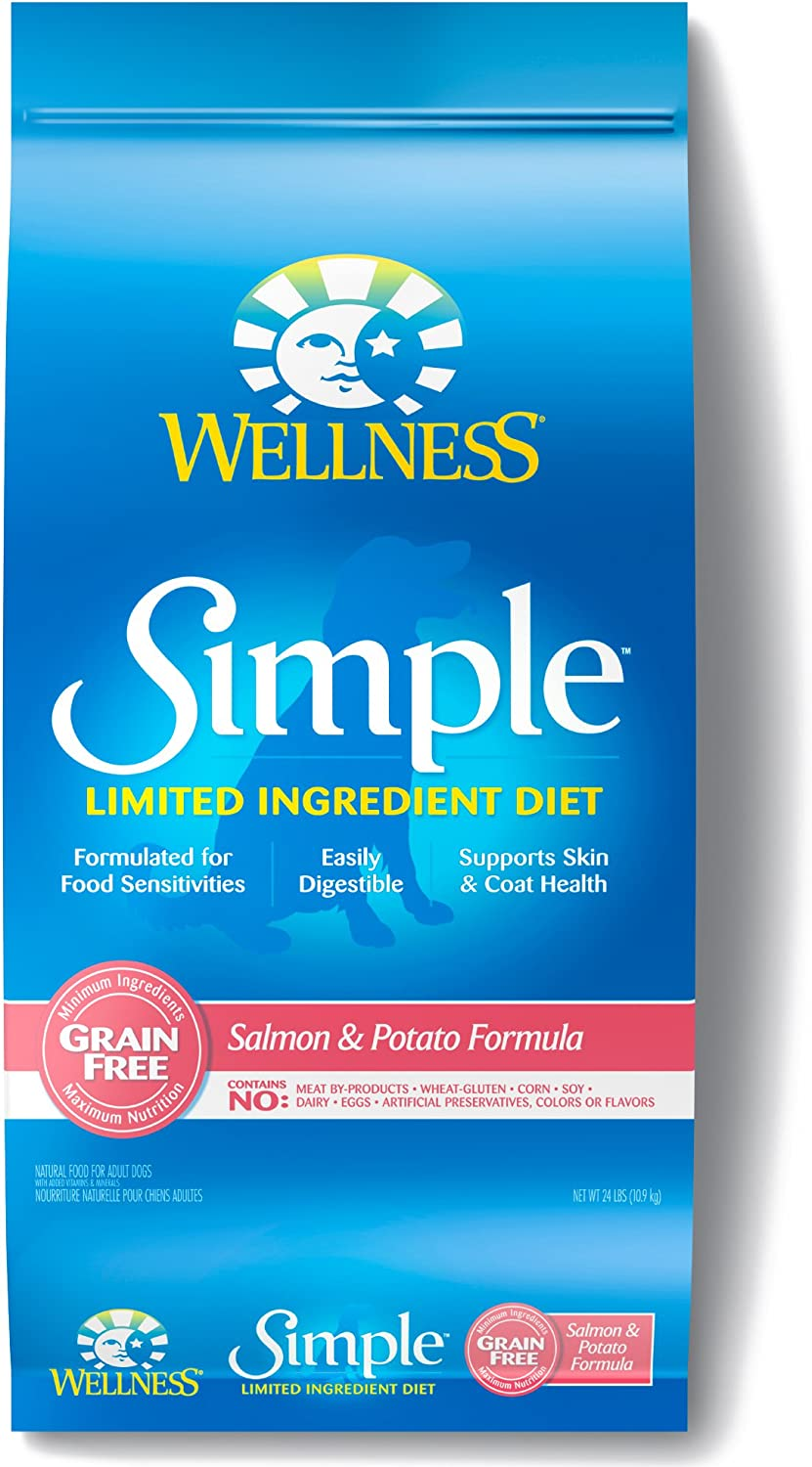 7. Wellness Simple Limited Ingredient Diet Grain-Free Dry Dog Food