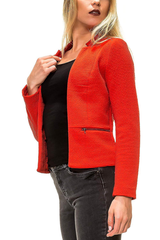 ONLY Damen Anzugjacke Onllink Maddy L/S Zip Blazer Cc TLR 15166746