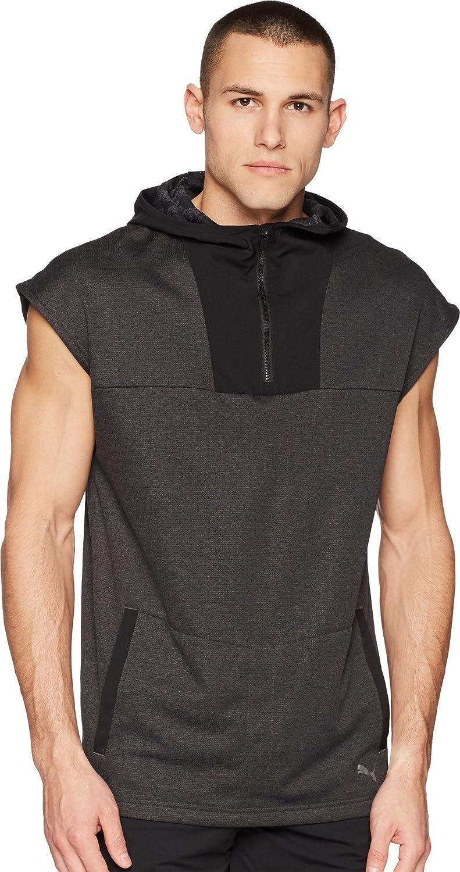 sleeveless hoodie puma