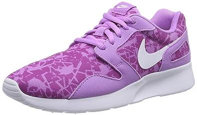 3955fb71a59ec Nike Kaishi Print, Damen Sneakers, Violett (Fuchsia glow/white-Fuchsia flash