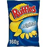 Ruffles -Original - Patatas Fritas con Sal - 160 g
