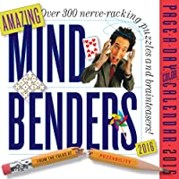 Amazing Mind Benders Color Page-A-Day Calendar 2016