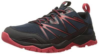 Merrell Men's Capra Rise Hiking Shoe, Navy, ...