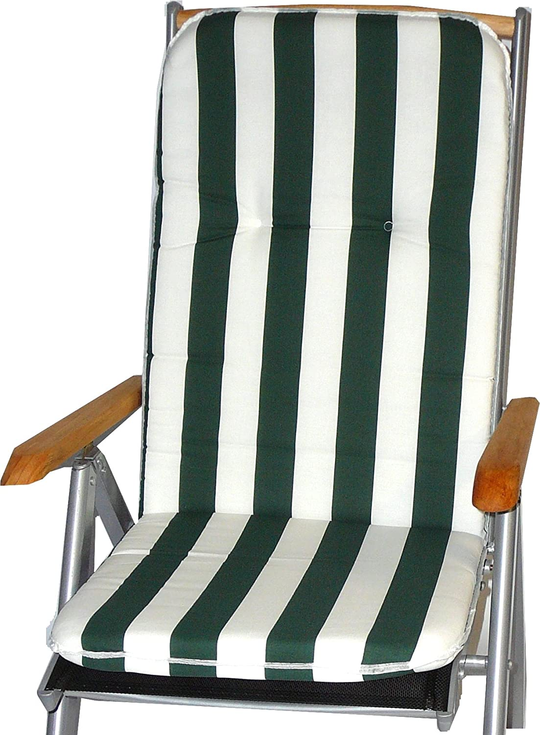 beo BS10 Capri HL piping pad for chair, circa 47 x 114 cm, approximately 5 cm thick Gartenstuhl-Kissen
