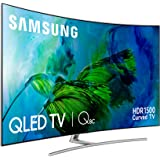 "Smart tv samsung qe65q8c 65"" ultra hd 4k qled usb x 3 qhdr 1501 curvo (1000057168)"