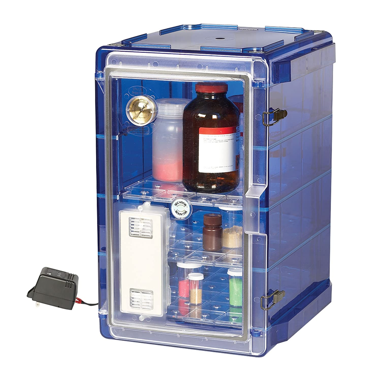 ft. 1.9 cu Bel-Art Secador Vertical Profile Amber 4.0 Auto-Desiccator Cabinet; 230V F42074-1228