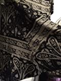 You will not get the exact garment pictured - fabric cutting will vary the pattern placement