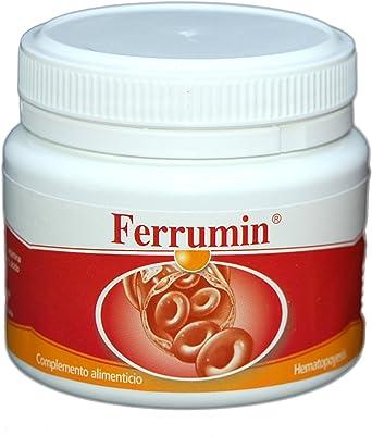SONUSAN – Ferrumin Complemento alimenticio de Hierro con vitamina C, B2 y B12. Indicado para mujeres, veganos y deportistas de alto rendimiento – 100 cápsulas: Amazon.es: Alimentación y bebidas