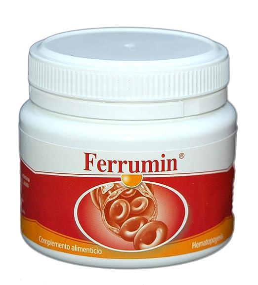 SONUSAN – Ferrumin Complemento alimenticio de Hierro con vitamina C, B2 y B12. Indicado