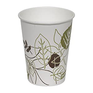 Dixie 9 oz. Waxed Paper Cold Cup by GP PRO (Georgia-Pacific), Pathways, 9PPATH, 2,400 Count (100 Cups Per Sleeve, 24 Sleeves Per Case)