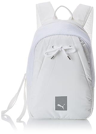 Puma Prime Small Backpack EP Mochila, Unisex Adulto, Blanco, Talla única: Amazon.es: Deportes y aire libre
