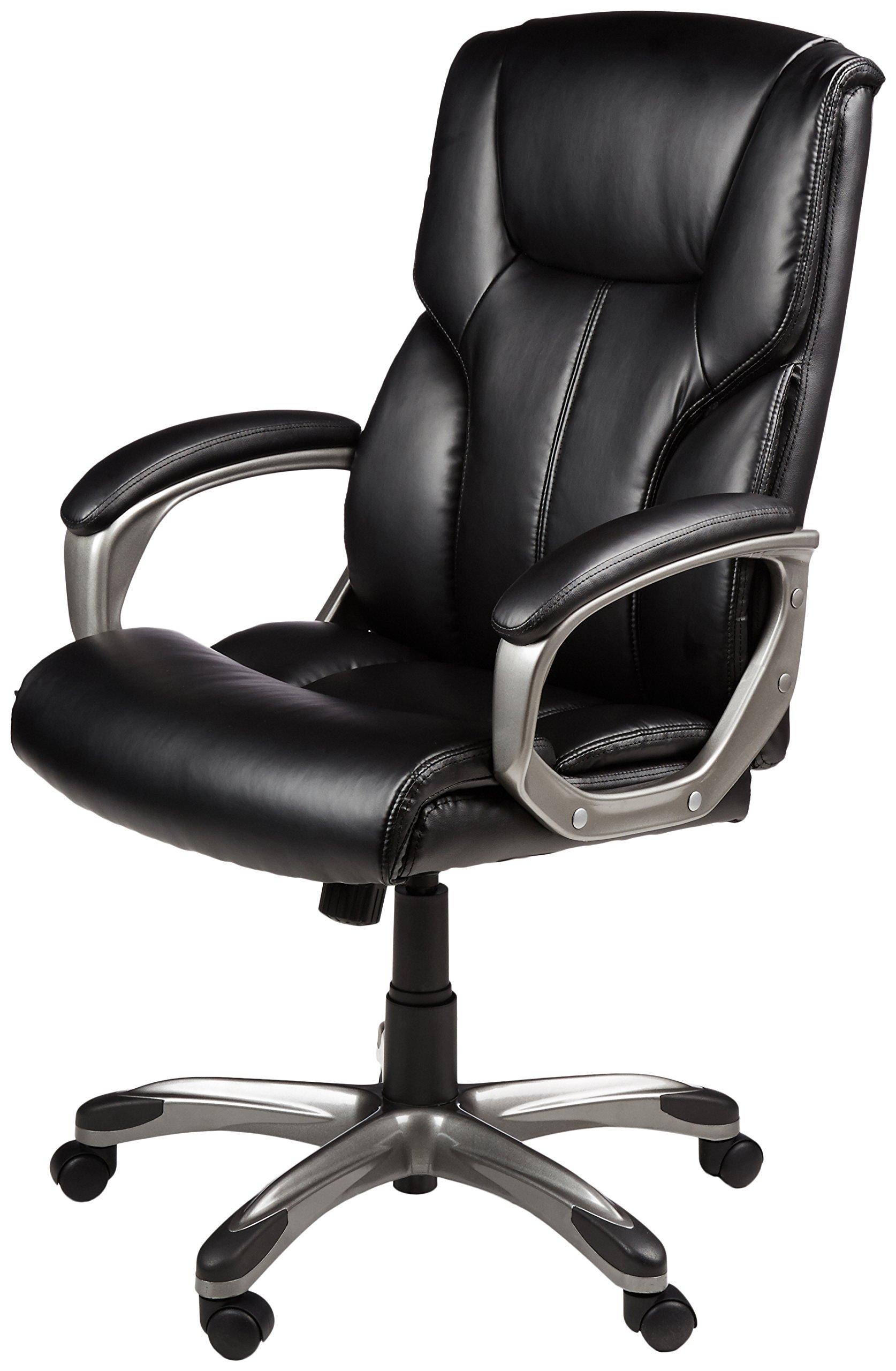 AmazonBasics High-Back Executive Chair - Black