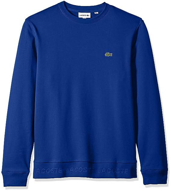 Long Terry Sweatshirt PrintFrench Mens Sleeve Lacoste OZTiPkuX