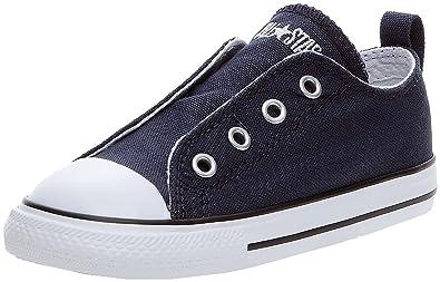 Converse Chucks children 722 411 AS Simple Slip Ox Can Navy Blue Athletic
