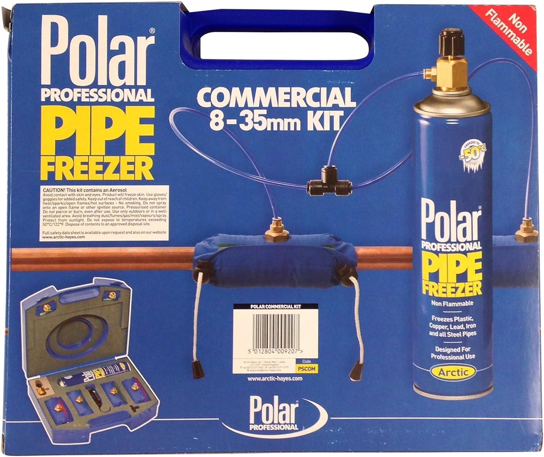 Kit comercial de congelador de tuberías polar: PSCOM: Amazon.es ...