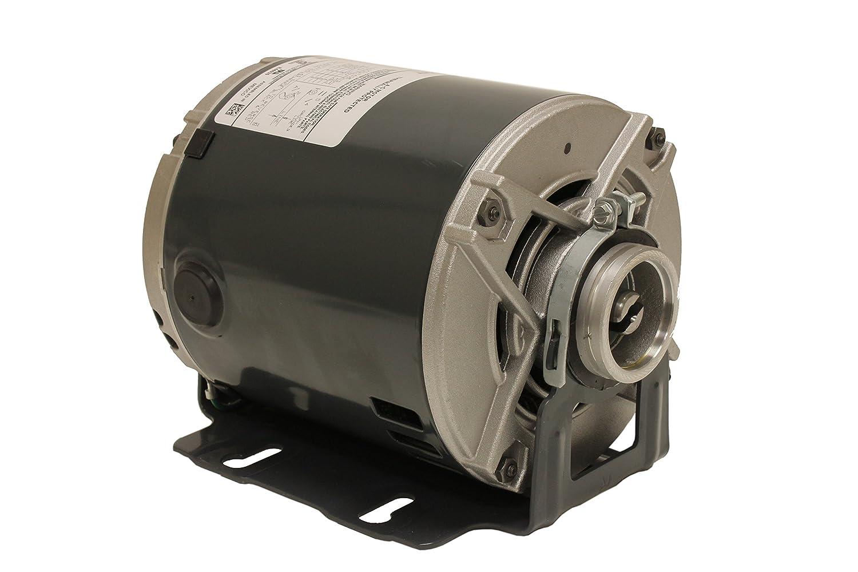 Marathon 4805 Carbonator Pump Motor, Single/Split Phase, 1/3 hp, 1800/1500 RPM, 100-120/200-240V, 5.5-5.6/2.7-2.8 amp