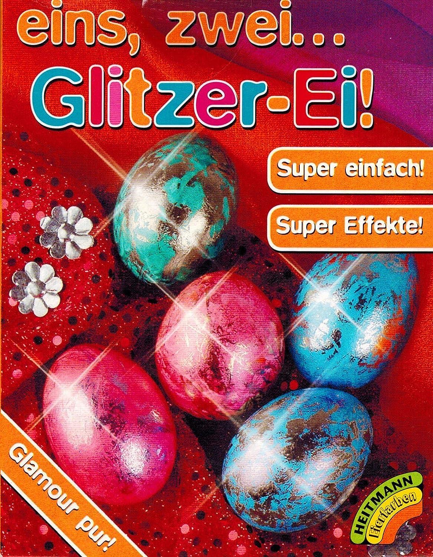 Amazon.de: Ostereier Farben Glitzer Ei - Super Silber Effekte (3 Farben)