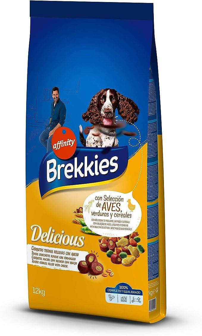 Brekkies Pienso para Perros Delicious con Una Selección de Aves ...