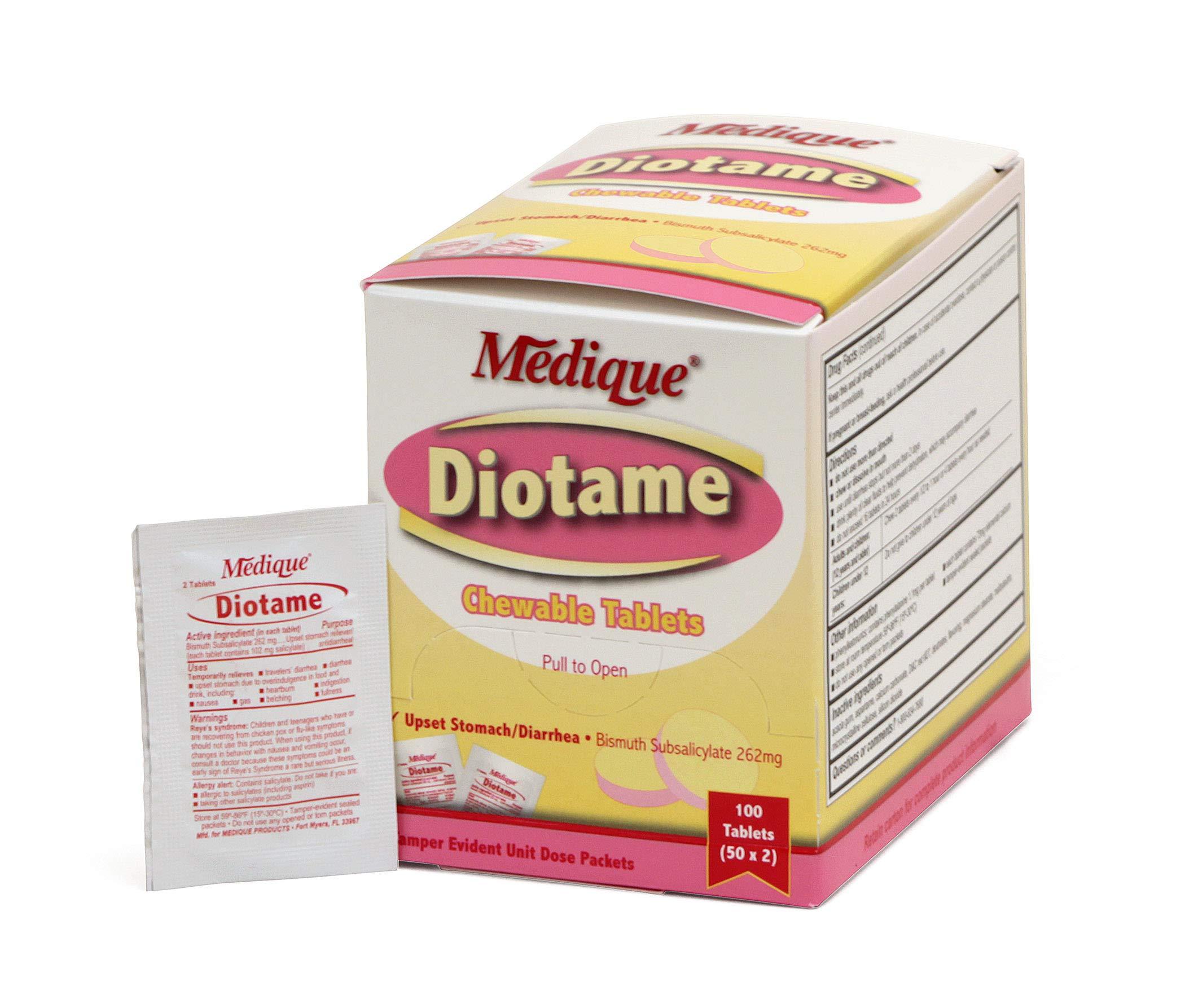 Medique 22033 Diotame Tablets, 100 Tablets