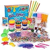 Joyjoz スライム slime kit フリースライム おもちゃ 手作りツール ストレス解消 ふわふわクリスタルスライム パーティーで楽しく