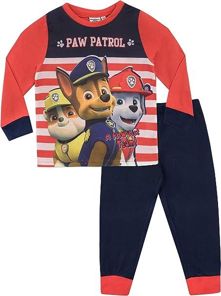 "Patrol /""Chase /& Marshall/"" Boys Pajamas 18-24 Months"