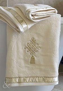 Just Contempo - Toalla (algodón egipcio, 450 gsm), 100% algodón,