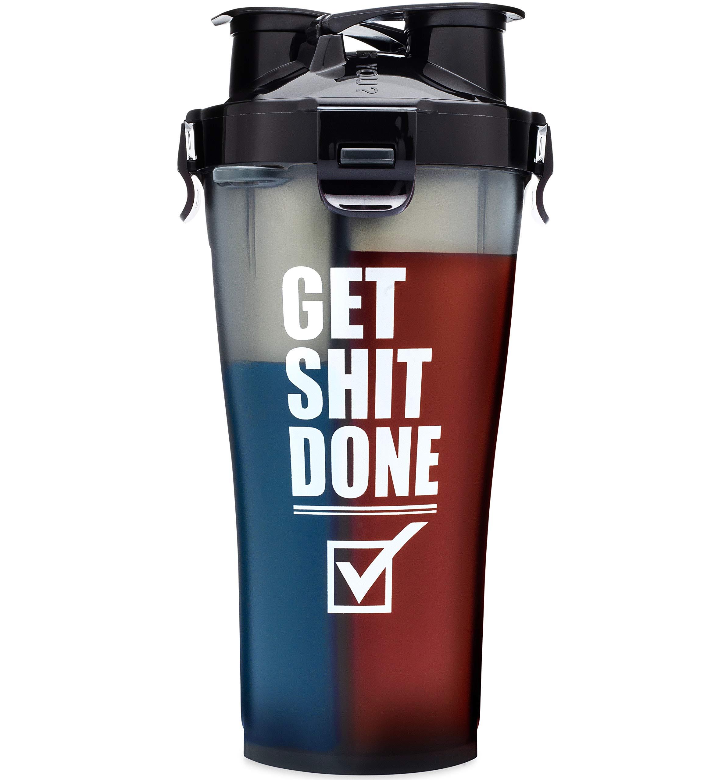 Amazon.com: Hydra Cup Dual Threat - Protein & Pre Shaker