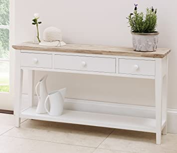 Florence Console Table White