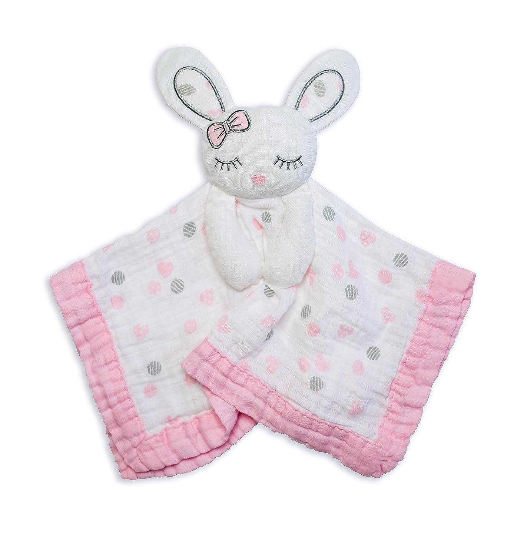 Lulujo 0628233459008 Lovies Cuddly Blanket Bunny