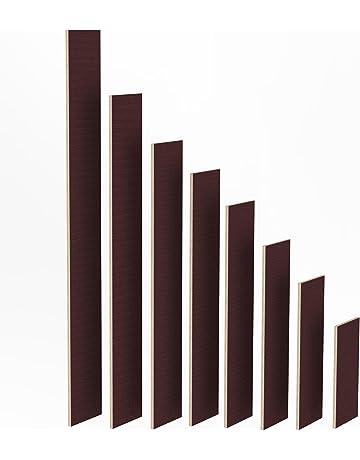 120x60 cm AUPROTEC Tischplatte 18mm schwarz 1200 mm x 600 mm rechteckige Multiplexplatte melaminbeschichtet von 40cm-200cm ausw/ählbar Ecken Radius 100mm Birken-Sperrholzplatten Auswahl