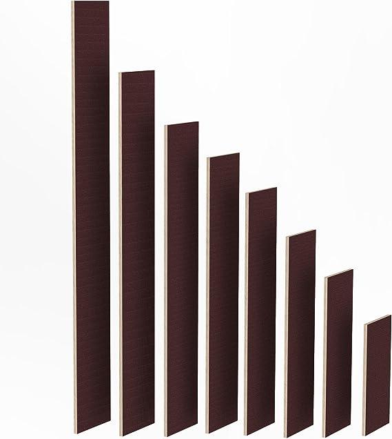 2m Tavola di Betulla Tagliere in Legno Lungo 150mm Ripiano di Legno Compensato 24mm Pannelli Multistrati tagliati 1m 1500 mm