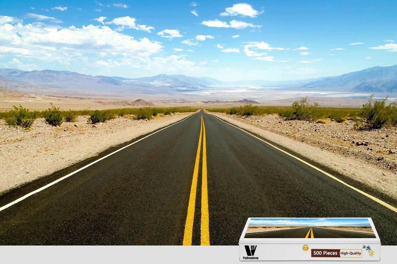 【在庫処分】 pigbangbang、20.6 X 15.1インチ Death、プレミアム木製Unique Present pigbangbang、20.6 toファミリNice壁画ポスター – Road X To Death Valley – 500ピースジグソーパズル B07CWJ6VJ7, un-アン-:4d38519c --- a0267596.xsph.ru