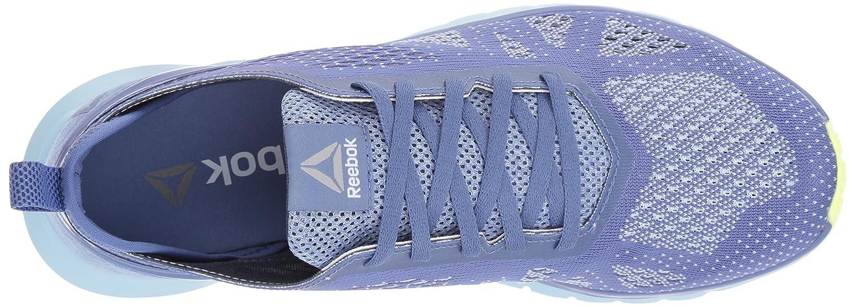 Reebok Women's Print Smooth Clip Ultk Track Shoe B01N9OC8Z6 5 B(M) US|Lilac Shadow/Fresh Blue/Electric Flash/White/Smoky Indigo