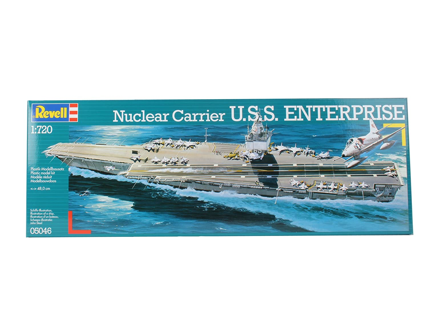 Revell 05046 U.S.S. Enterprise Model Kit 80-5046 9to11 12to16 Boats