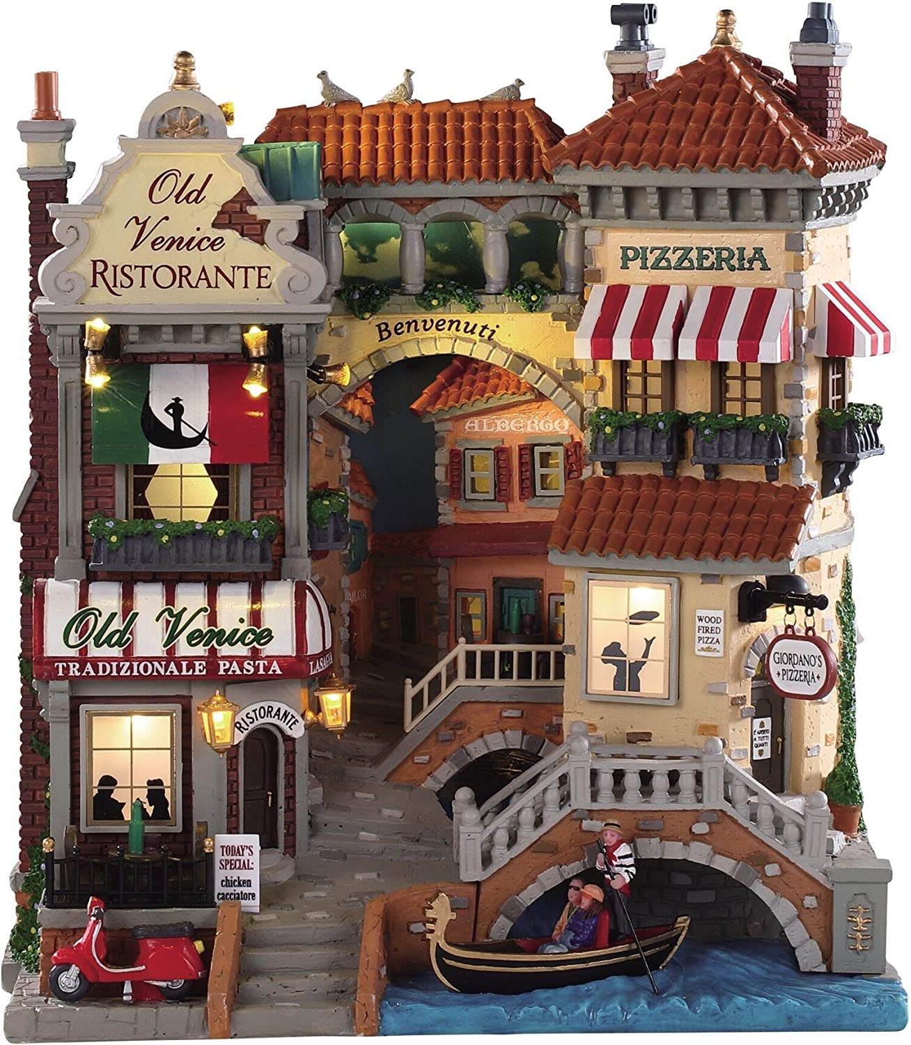 Lemax 11 Max New York Mall 83% OFF Inch Venice 85318 Facade Shops Canal