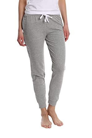 d7e95acf6 Women's Super Flattering Casual Jogger with Drawcord and Pockets - Heather  Grey - Small