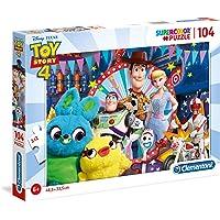 Clementoni 27276 Supercolor Puzzle Toy Story 4 Disney, 104 Parça