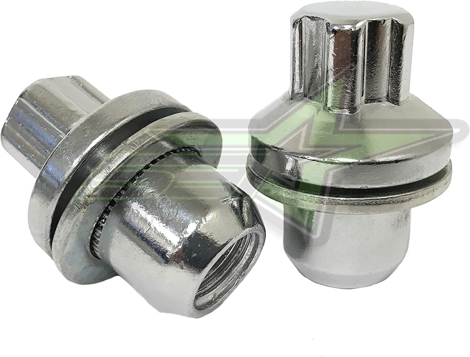 SET Group USA Mag Wheel Locks Works with Land Rover LR2 LR4 Evoque Discovery Factory OEM Style 14x1.5
