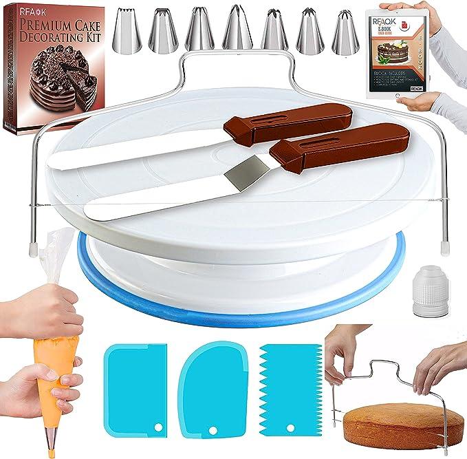 fat unicorn-eating cake decorating tools