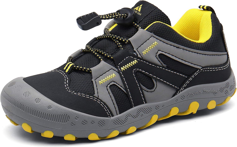 Mishansha Calzature da Escursionismo Bambini Scarpe da Escursionismo Esterno Sportive Sneaker Confortevoli